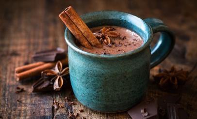 Chocolat chaud aux épices tchaï